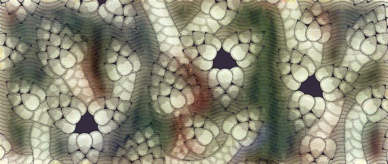 pommes de pin illustration