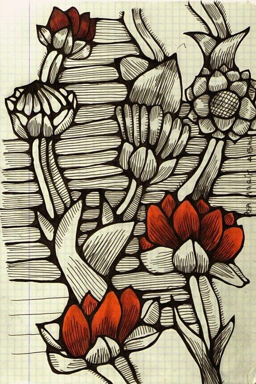 Esquisse floré