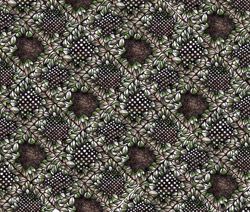 leavespattern dessin textile dans infographie