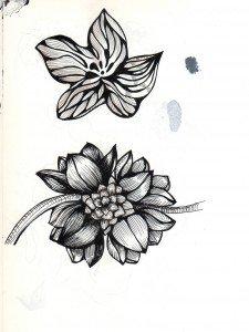 croquis de Rosa Marín Ribas